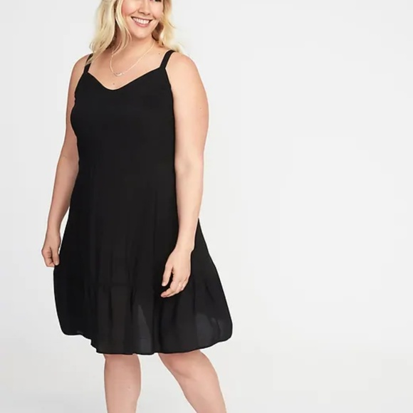 3f7eee1610c Old Navy Plus Size Fit and Flare Tiered Cami Dress